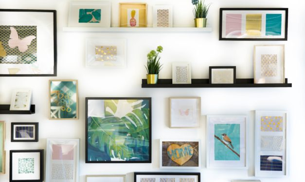 One way to bring original art into your home