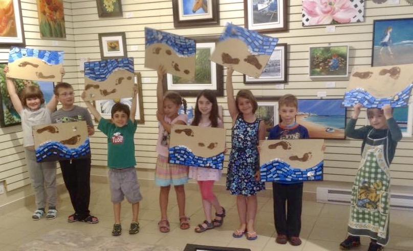Summer's Second Kids Art Camp
