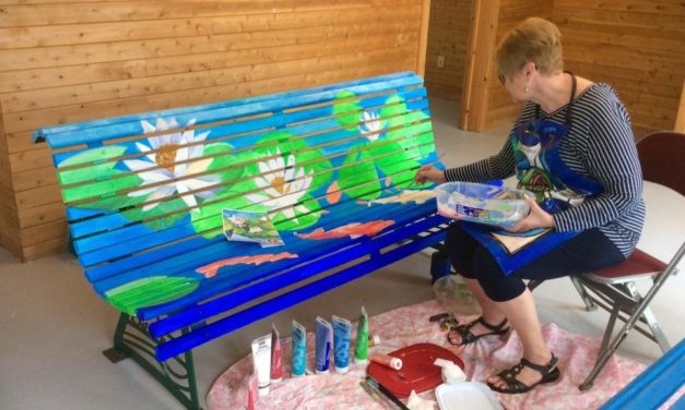 2017 Painted City Benches