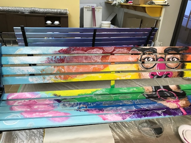 2018 Painted City Benches