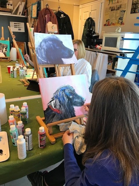 Paint Your Pet Portrait#2