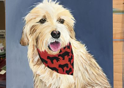 Example of Sherley Kenny's pet portrait