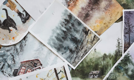Want to try a Watercolour art class?